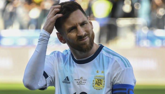 Photo de Copa America: La sanction est enfin tombée pour Lionel Messi