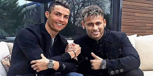Photo de Ronaldo et Neymar: Un drôle de duel entre les deux stars enflamme la toile