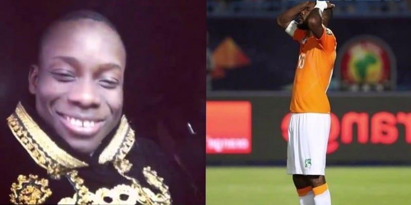 Photo de Sidiki Diabaté honore l'équipe ivoirienne et toute la Côte d'Ivoire