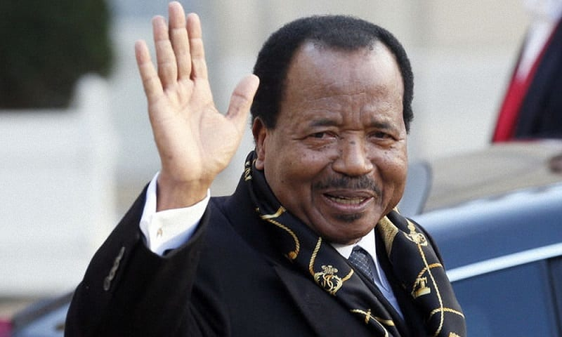 Photo de Cameroun: Paul Biya réapparait sur twitter