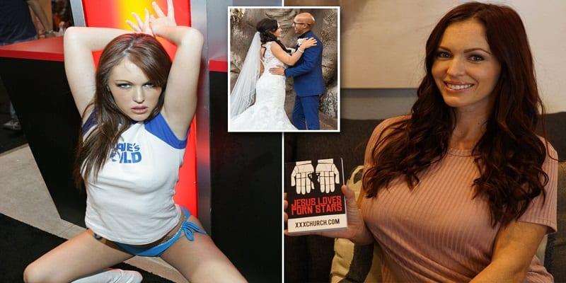 Photo de La star de Pornhub, «jenna Presley», quitte le porno pour devenir pasteur