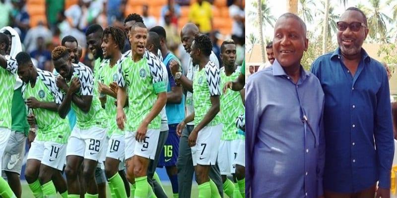 Photo de CAN: les milliardaires nigérians Dangote et Otedola promettent 27 millions de nairas par but aux Super Eagles