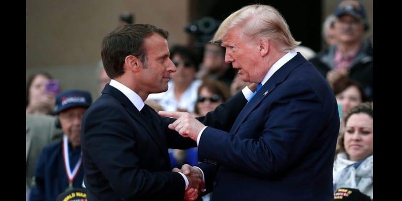 Photo de USA: Trump insulte Macron et menace la France
