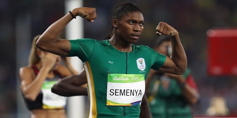 """Photo de """"J'ai dû marcher nue pour prouver aux gens que j'étais une fille – Caster Semenya"""