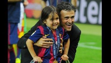 Photo de Barcelone : l'ex-entraîneur Luis Enrique en deuil, sa fille de 9 ans est décédée d'un cancer