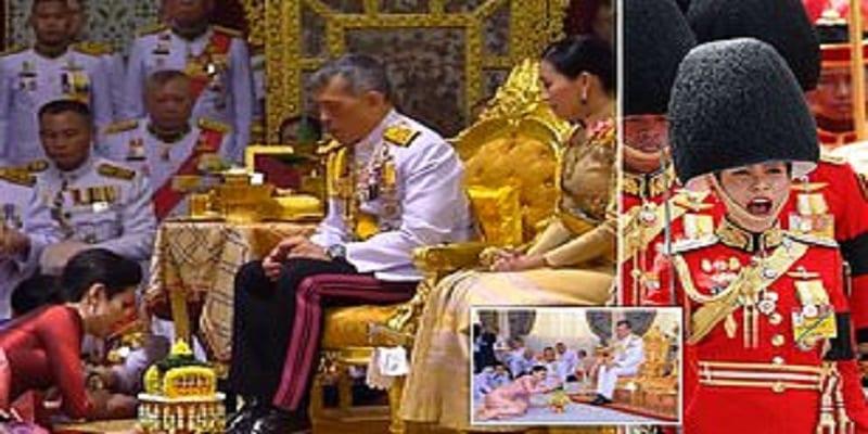 Photo de Thaïlande: incroyable, le roi nomme sa concubine, reine consort