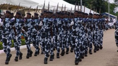 Photo de Abidjan: Un gendarme abattu avec son arme par des syndicats