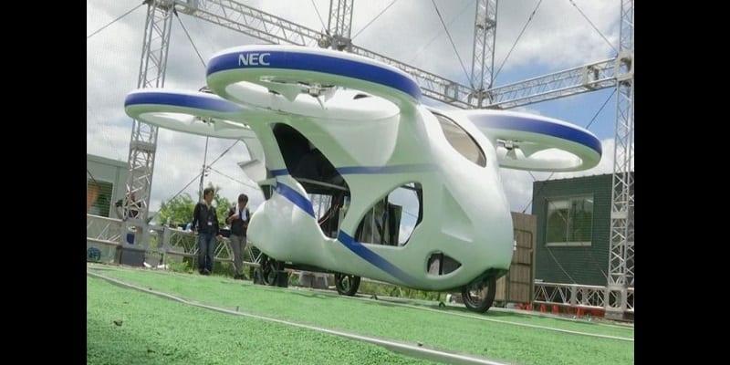 Photo de Le Japon teste avec succès sa première voiture volante (vidéo)