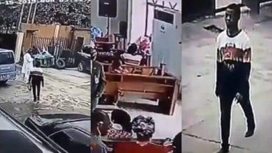 Photo de Nigeria: un homme entre dans une église et vole un sac à main pendant le service-Vidéo