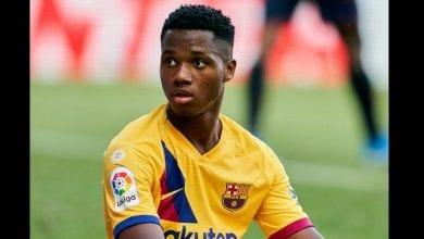 Photo de Barcelone : Ansu Fati fait son choix pour sa sélection nationale