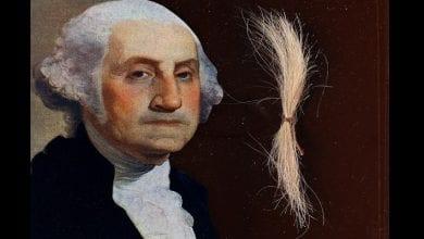 Photo de États-Unis : les cheveux réels de George Washington mis en vente à 50 000 dollars (photo)