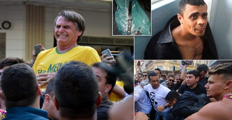 Ultra-Right Bolsonaro undergoing surgery after being stabbed at a rally