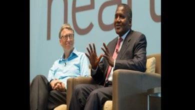 """Photo de Dangote:""""J'espère donner une grande partie de ma fortune en charité  comme Bill Gates"""""""