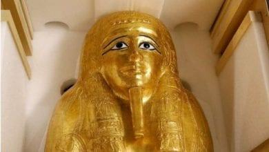 Photo de Un musée de New York retourne un cercueil égyptien volé: Photo