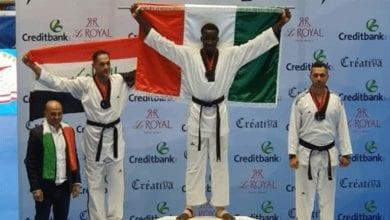 Photo de Taekwondo: 2 médailles d'or pour la Côte d'Ivoire