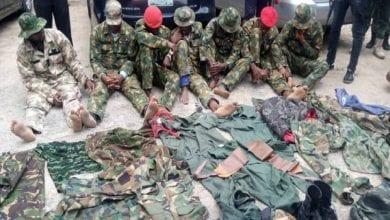 Photo de Nigeria: des soldats arrêtés pour vol à main armée