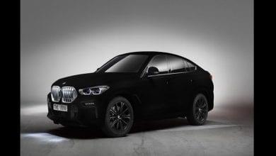 Photo de BMW dévoile la voiture « la plus noire au monde » (vidéo)