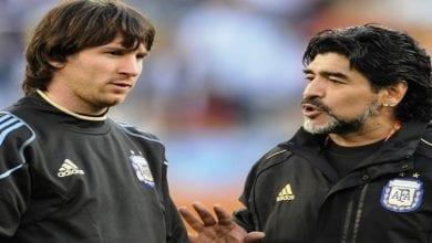 Photo de Football: Maradona révèle le secret qu'il a donné à Messi pour tirer les coups-francs