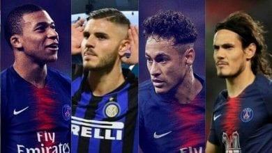 Photo de PSG: Mbappé, Icardi, Neymar, Cavani formeraient-ils la meilleure attaque d'Europe?