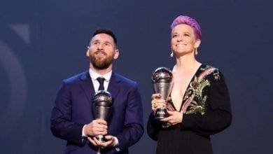 Photo de The Best 2019: Découvrez pour qui Messi, Ronaldo,Van Dijk, Ramos, Hazard…ont voté
