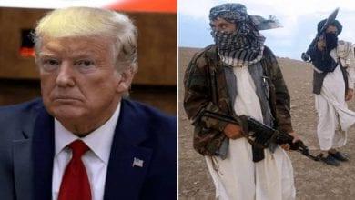Photo de Donald Trump répond aux talibans après leurs menaces