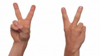 Photo de Voici pourquoi il faut éviter de faire le signe V sur les photos sur internet