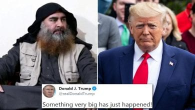 Photo de Trump annonce la mort d'Abu Bakr al-Baghdadi, chef de l'Etat islamique…La Russie réagit!