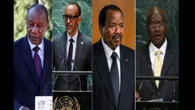 Photo de Découvrez ces présidents africains qui ont modifié la constitution pour rester au pouvoir