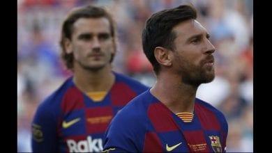 """Photo de Barça: Piqué réagit sur la """"relation tendue entre Messi et Griezmann"""""""