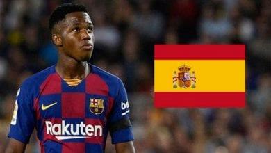 Photo de Ansu Fati: Voici pourquoi il ne joue pas encore avec l'Espagne malgré sa naturalisation