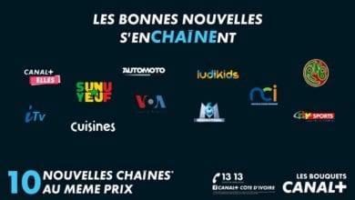 Photo de LES BOUQUETS CANAL+ s'enrichissent de nouvelles chaines et toujours au même prix