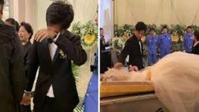 Photo de Chine: Il épouse le cadavre de sa partenaire lors de ses funérailles (Photos)