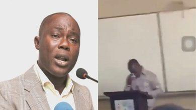 Photo de Ghana: cité dans un scandale sexuel par la BBC, un professeur pleure en classe- (VIDEO)