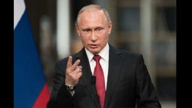 Photo de Vladimir Poutine : « certains pays occidentaux utilisent la pression, l'intimidation et le chantage pour exploiter l'Afrique »