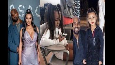 Photo de Kanye West interdit à sa fille de se maquiller et de porter des hauts courts. Kim réagit!
