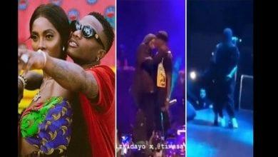 Photo de Wizkid et Tiwa Savage en couple ? Ils s'embrassent lors d'un concert à Paris (vidéo)