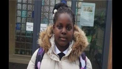 Photo de Emmanuella Mayaki, la Nigériane de 10 ans embauchée pour donner cours dans une école au Royaume-Uni