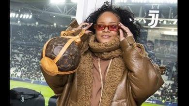 Photo de LDC: quand la chanteuse Rihanna fait sensation au stade de la Juventus