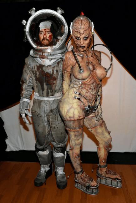Halloween 2019 : Heidi Klum bat le record du meilleur costume (vidéo)