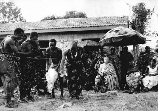 Découvrez Jimmy Moxon, le premier roi blanc du Ghana-Photos