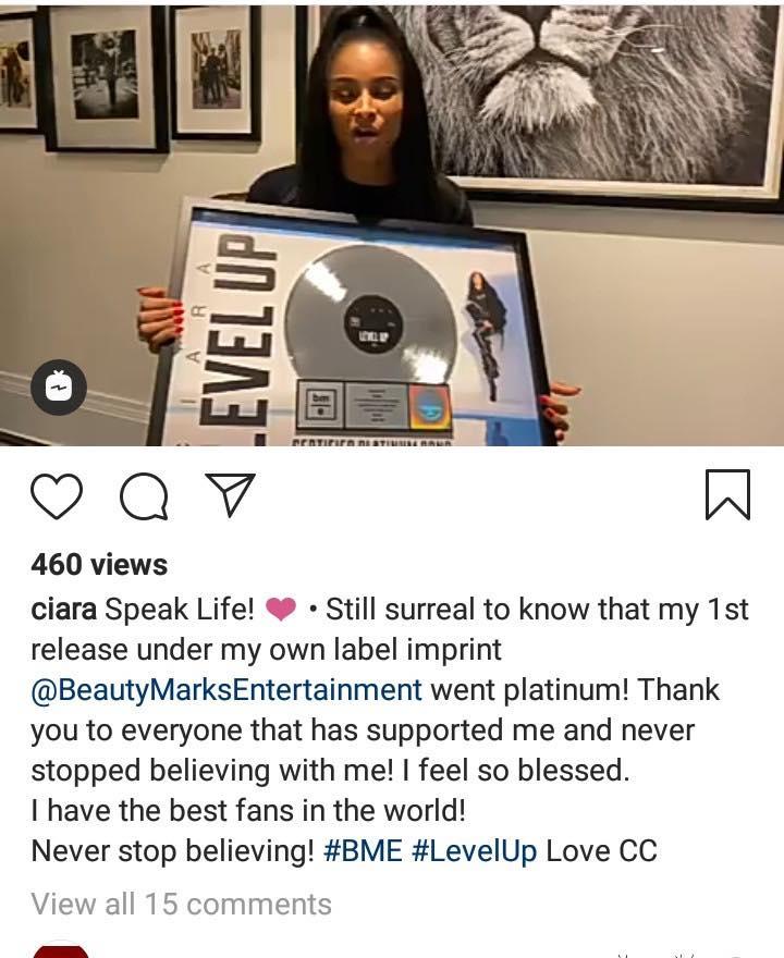 La chanteuse américaine Ciara parle du pouvoir de la foi en Dieu
