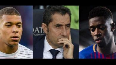 Photo de Dembélé: la nature de sa blessure révélée, Valverde et Mbappé réagissent