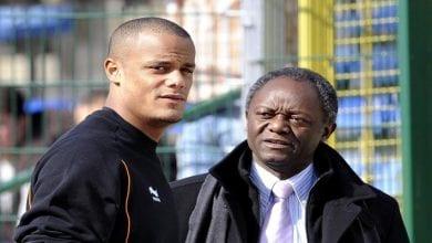 Photo de Vincent Kompany: son père devient le premier maire noir élu en Belgique