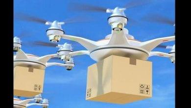 Drones-delivering-medical-supplies
