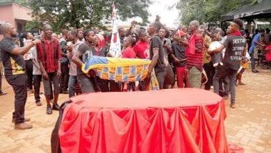 Photo de Les restes d'un esclave asservi à la Barbade enterré au Ghana