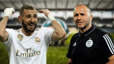 Photo de Benzema avec la sélection algérienne? Le coach Belmadi lui répond