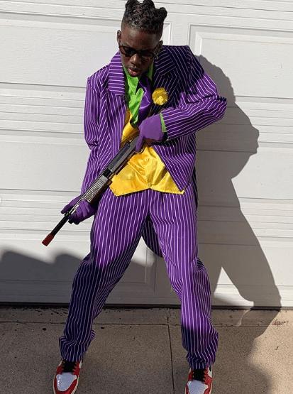Le chanteur nigérian Rema célèbre Halloween avec le fils de Will Smith, Jaden Smith (Photos)