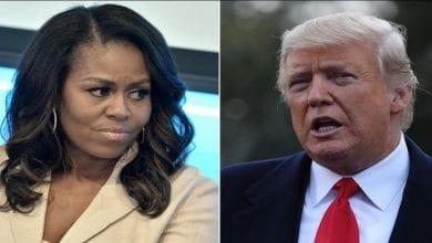 Photo de Donald Trump: Michelle Obama se prononce sur sa procédure de destitution