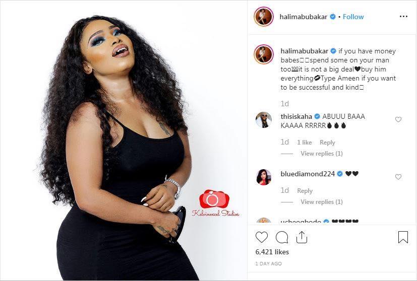 """""""Si tu as de l'argent, dépense aussi pour ton homme"""", conseille une actrice nigériane aux femmes"""