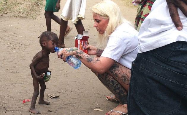 Nigeria : la travailleuse humanitaire danoise sauve un autre enfant abandonné à son sort par sa famille (photos)
